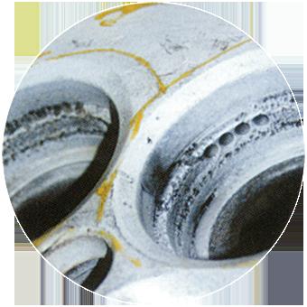 eroded damage repairs